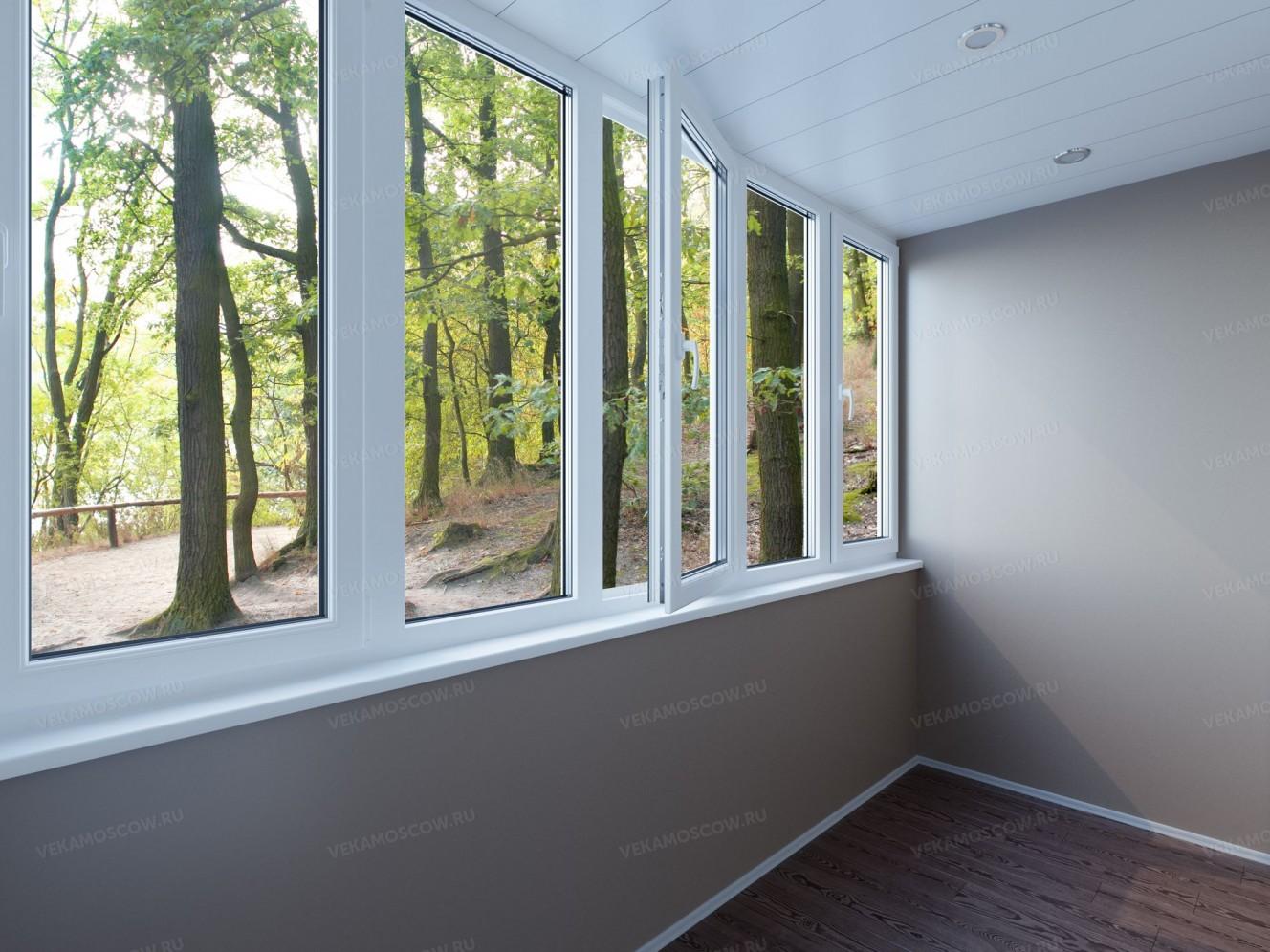 Сколько стоит поставить пластиковые окна на балкон.